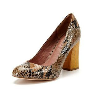 Corso Como Snake Skin Heels Pumps Size 10